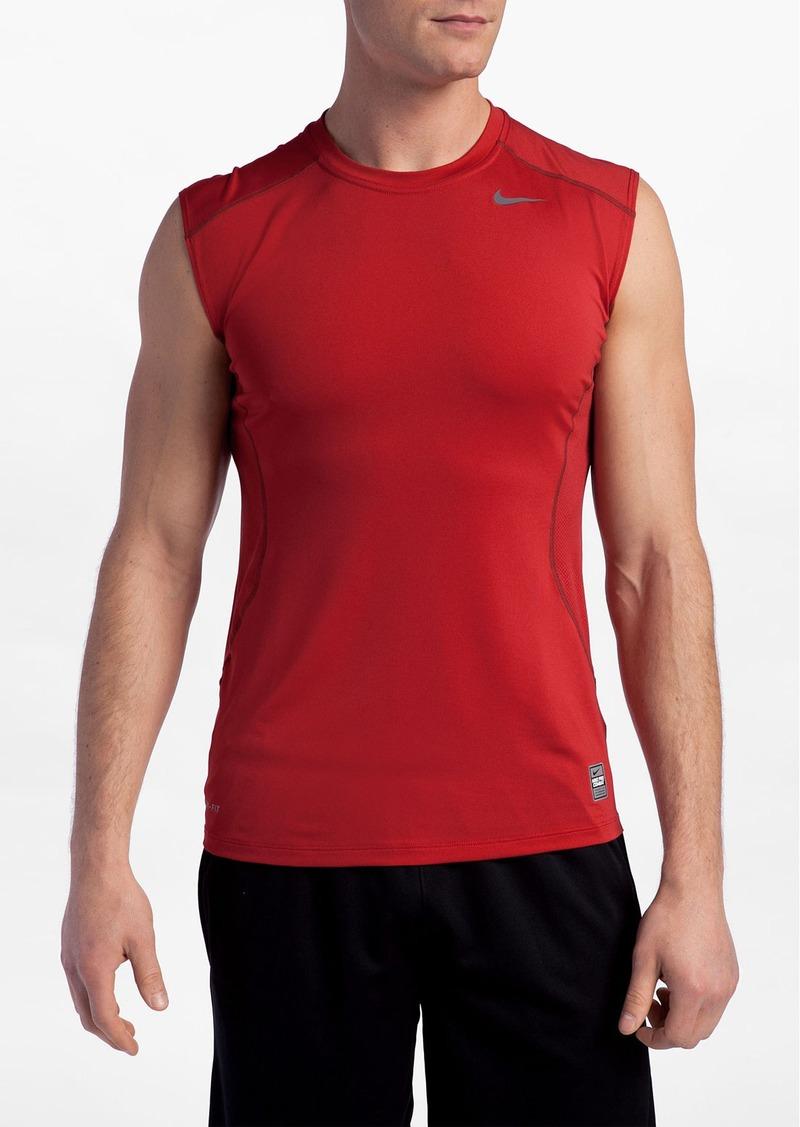 Nike nike 39 core fitted sl 2 0 39 sleeveless t shirt regular for Nike t shirt price