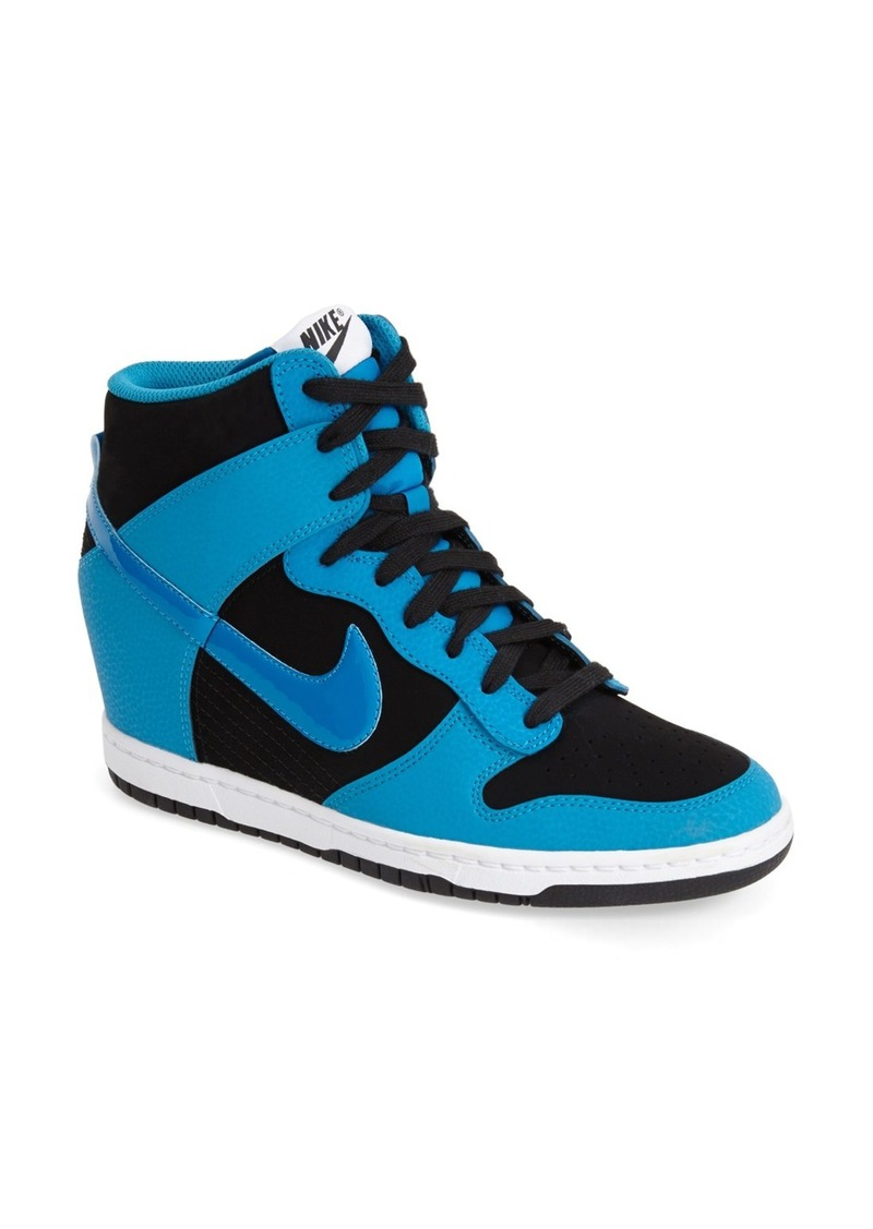 nike 39 dunk sky hi essential 39 wedge sneaker women. Black Bedroom Furniture Sets. Home Design Ideas