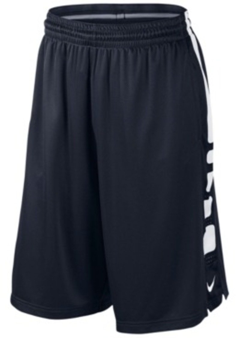 nike nike elite stripe basketball shorts shorts shop. Black Bedroom Furniture Sets. Home Design Ideas