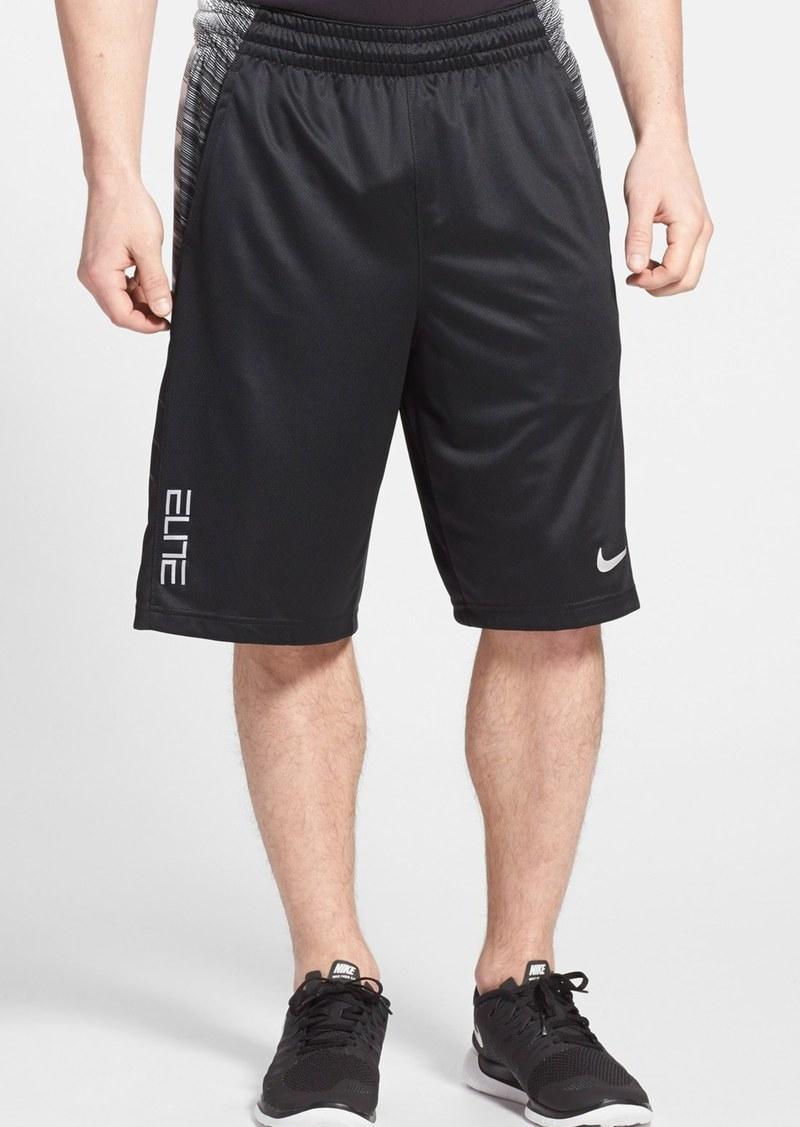 nike nike 39 elite wing 39 dri fit basketball shorts shorts shop it to me. Black Bedroom Furniture Sets. Home Design Ideas