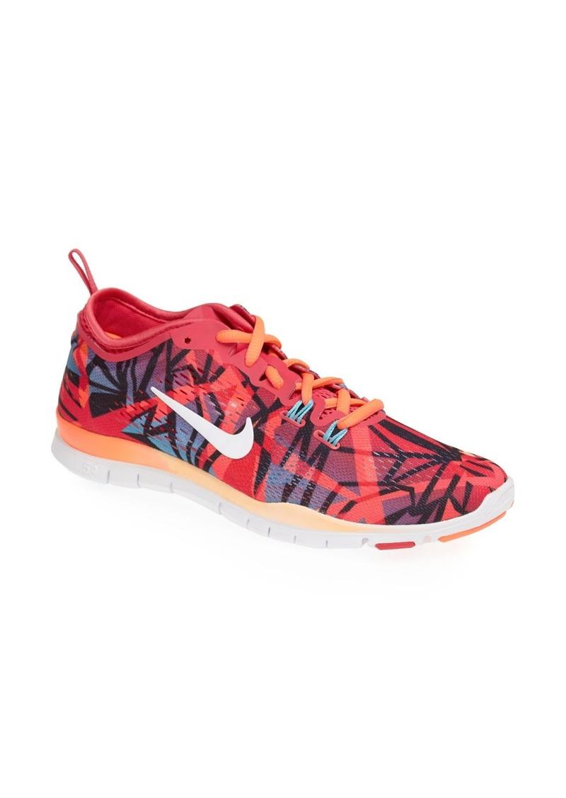nike nike free 5 0 tr fit 4 print shoe