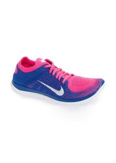Nike 'Free Flyknit 4.0' Running Shoe (Women)