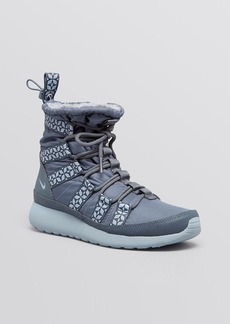 Nike High Top Cold Weather Sneakers - Women's Rosherun