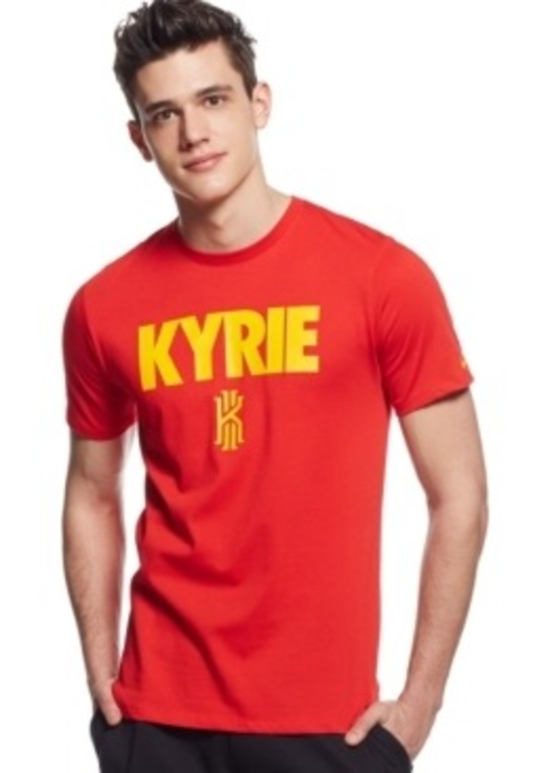 Nike nike kyrie dri fit t shirt t shirts shop it to me for Dri fit shirts on sale