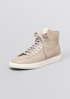 Nike Lace Up Sneakers - Blazer Snake Print Mid