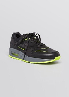 Nike Lace Up Sneakers - Women's Air Max 1 Cut Out
