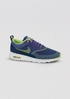 Nike Lace Up Sneakers - Women's Air Max Thea Jacquard