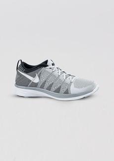 Nike Lace Up Sneakers - Women's Nike Flyknit Lunar2