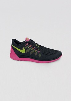 Nike Lace Up Training Sneakers - Women's Nike Free 5.0