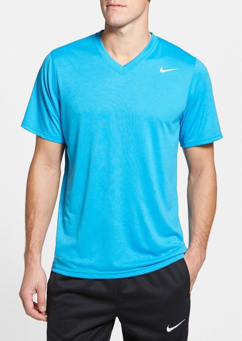 Nike nike 39 legend 39 dri fit v neck t shirt regular retail for Nike t shirt price