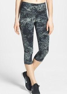 Nike 'Legendary' Print Dri-FIT Tight Fit Capri Leggings