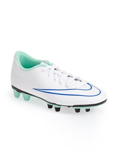Nike 'Mercurial Vortex II' Firm Ground Soccer Cleat (Women)
