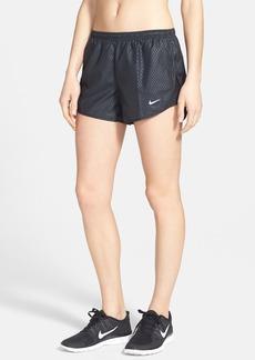 Nike 'Mod Tempo' Embossed Print Dri-FIT Running Shorts