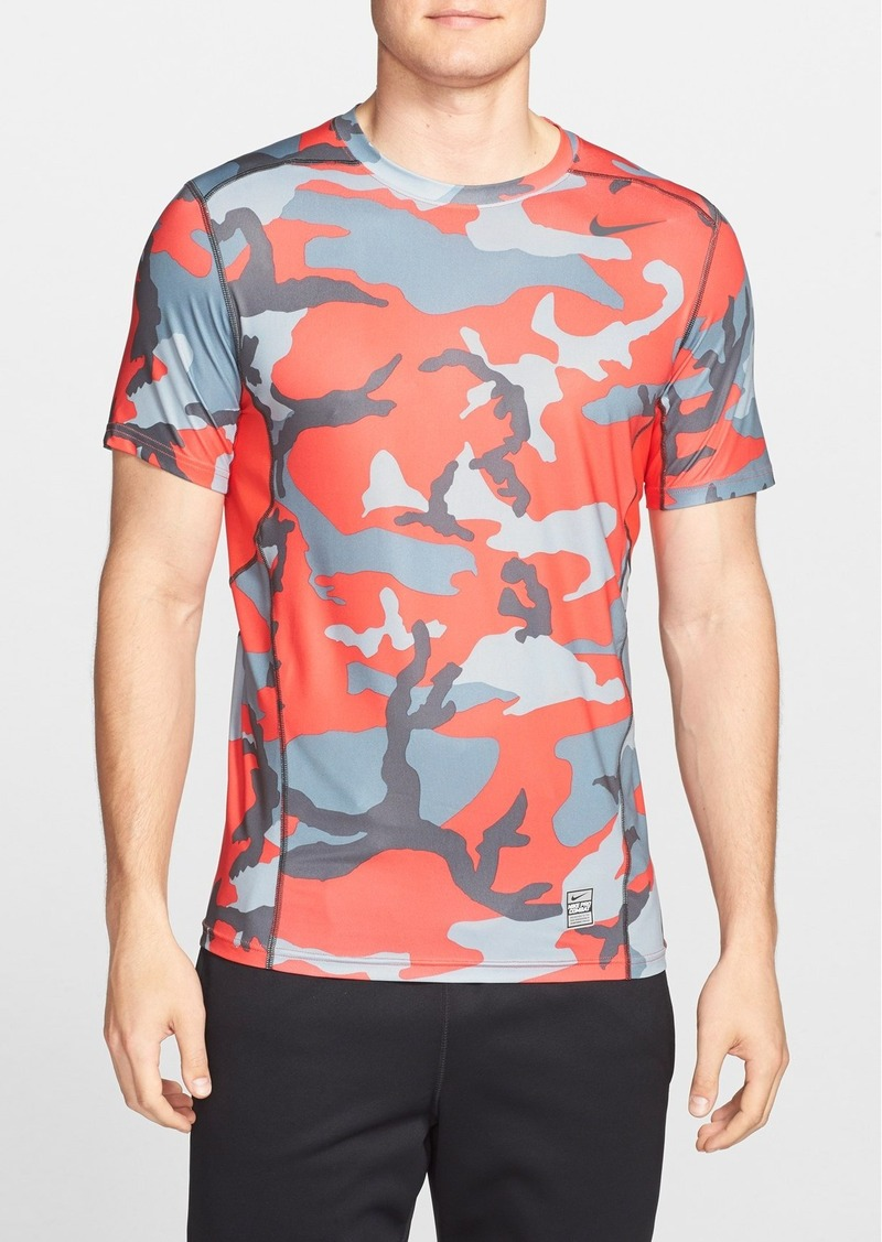 Nike Nike 39 Pro Combat Hypercool Woodland 39 Fitted Dri Fit T