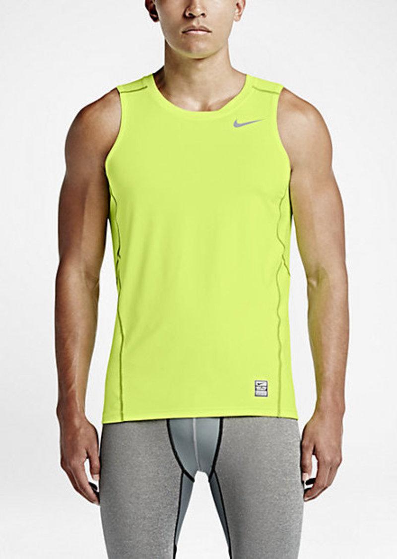 Nike nike pro hypercool fitted sleeveless t shirts for Nike men s pro cool sleeveless shirt