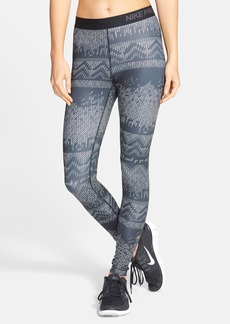 Nike 'Pro Hyperwarm' Nordic Print Tights