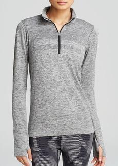 Nike Pullover - Dri Fit Knit Half Zip