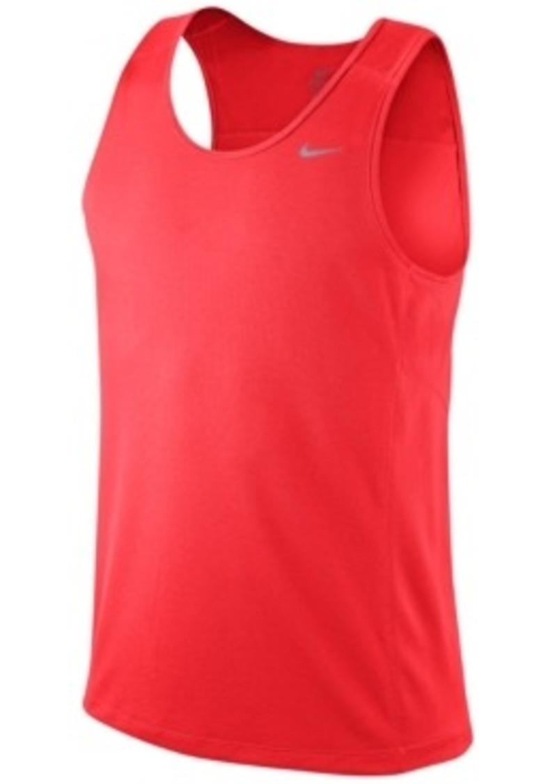 Nike Nike Shirt Miler Running Singlet T Shirts Shop