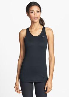 Nike 'Solid Long Stretch Distance' Dri-FIT Racerback Running Tank