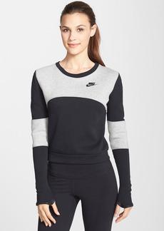 Nike 'Tech Fleece' Back Zip Sweatshirt