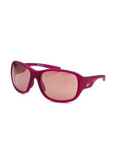 Nike Women's Exhale E Rectangle Magenta Sunglasses