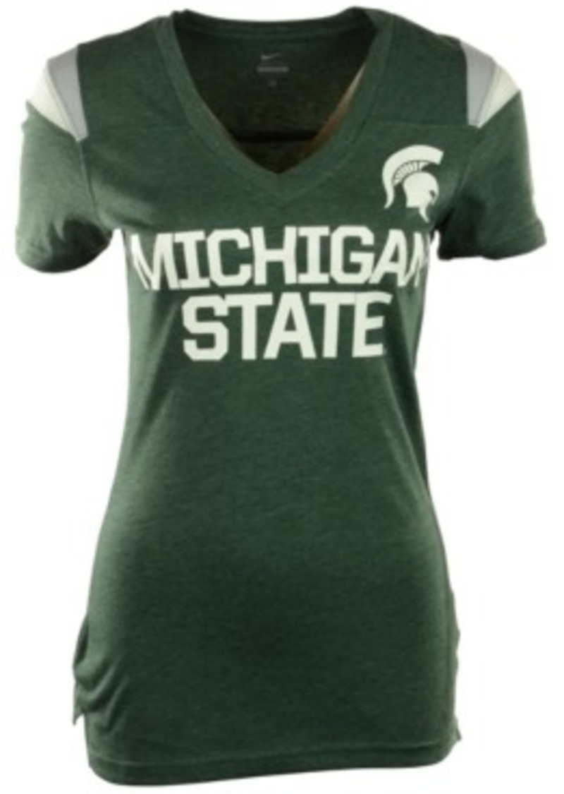 nike nike s sleeve michigan state spartans v