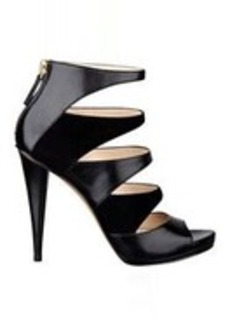 Amability Leather High Heel Pumps