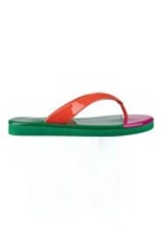 Beachball Color Block Flip Flops