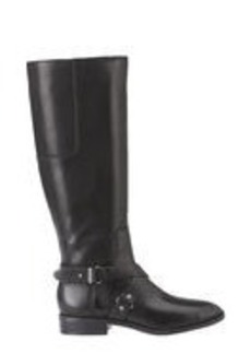 Blogger Tall Leather Riding Boots