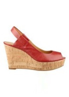 Cantalope Wedge Sandals