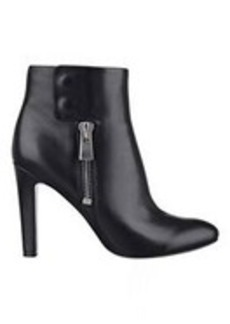 Clio Black Leather Booties