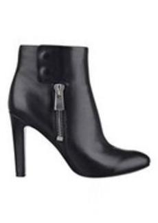 Clio Black Leather Booties