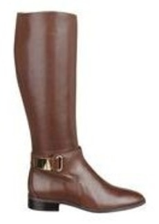 Hailene Leather Riding Boots