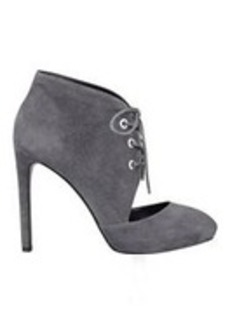 Nicolette Leather or Suede Booties
