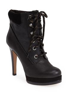 Nine West 'Alpachee' Leather Platform Bootie (Women)