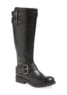 Nine West 'Aragosta' Moto Tall Boot (Women)