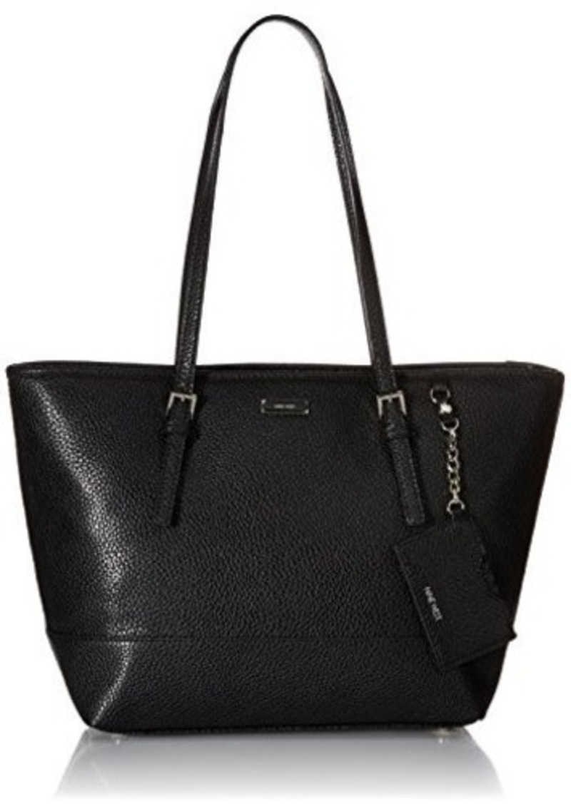 nine west nine west ava tote bag black one size handbags shop it to me. Black Bedroom Furniture Sets. Home Design Ideas