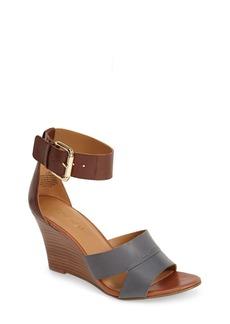 Nine West 'Chekmayte' Wedge Sandal (Women)