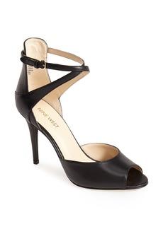Nine West 'Doreen' Leather Ankle Strap Sandal (Women)