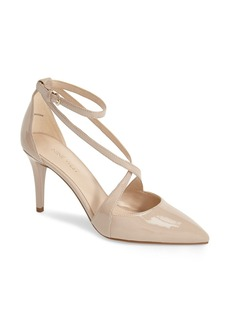 Nine West 'Peace Sign' Strappy Pointy Toe Pump (Women)