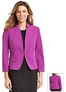 Nine West® Solid Darted Front Jacket