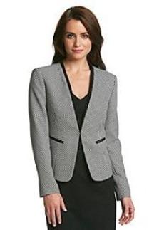 Nine West® Tweed Jacket With Piping