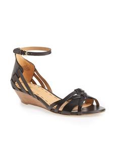 Nine West 'Villea' Ankle Strap Wedge Sandal
