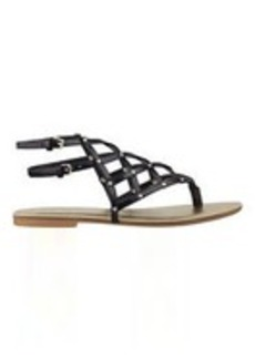 Plaidperfect Caged Gladiator Sandals