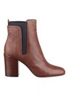 Saga Leather Pull-On Booties