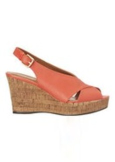 Unique Peep Toe Wedge Sandals