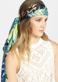 Nordstrom Abstract Patchwork Scarf