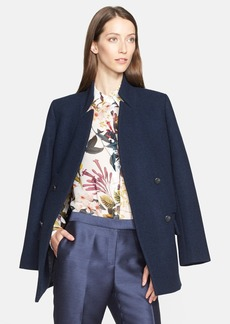 Nordstrom and Caroline Issa Double Breasted Wool Peacoat