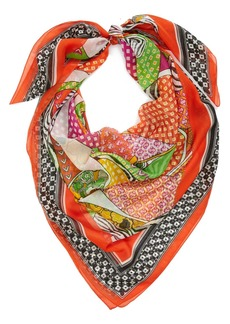 Nordstrom 'Animal Patchwork' Print Scarf