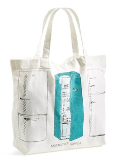 Nordstrom at Home 'Midnight Snack' Canvas Tote Bag